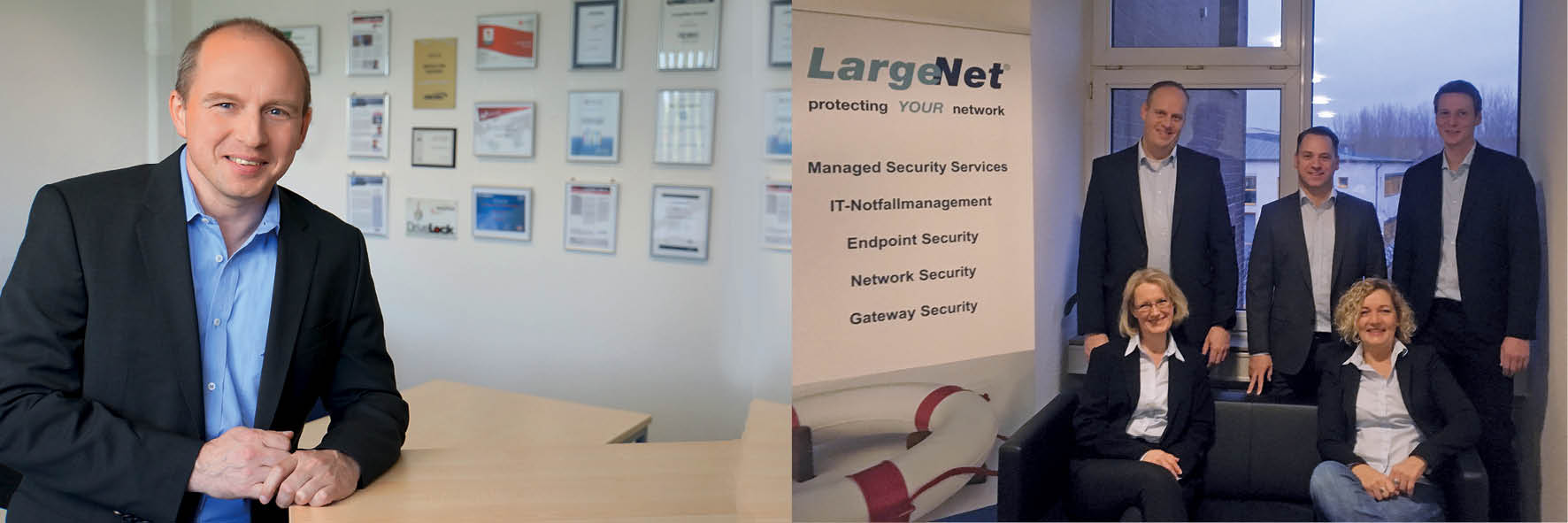 LargeNet ist STARKE MARKE des Monats April 2019